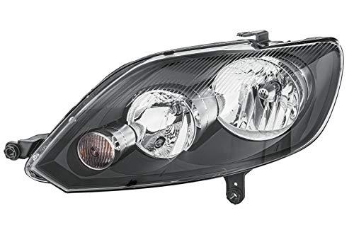 HELLA 1EE 009 948-051 FF/Halogen-Hauptscheinwerfer - links - für u.a. VW Golf Plus (5M1, 521)
