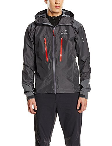 Arcteryx Alpha AR Jacket - Men's Carbon Copy Large by Arc'teryx