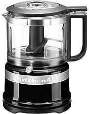 Kitchenaid 5KFC3516EOB Mini-Food-Processor, Geweldig Voor Het Hakken, Voorbereiden van Dressings En Sauzen, Onyx Zwart
