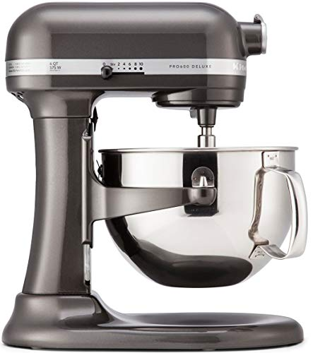 KitchenAid KP26M1XBZ 6 Qt. Professional 600 Series Bowl-Lift Stand Mixer - Black Storm