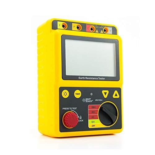 Messgerät Digitaler Erdungswiderstand Tester Megohm Meter 2Ohm / 20Ohm / 200Ohm 2 / 3lines High Precision Schutz Tester