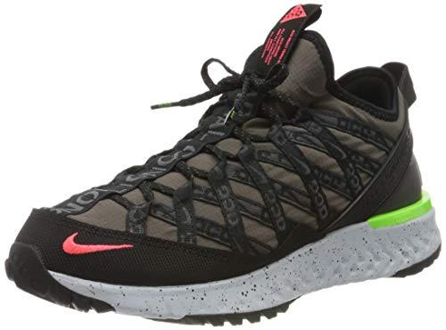 Nike ACG React Terra GOBE, Zapatillas para Carreras de montaa Hombre, Ridgerock Flash Crimson Black, 42.5 EU