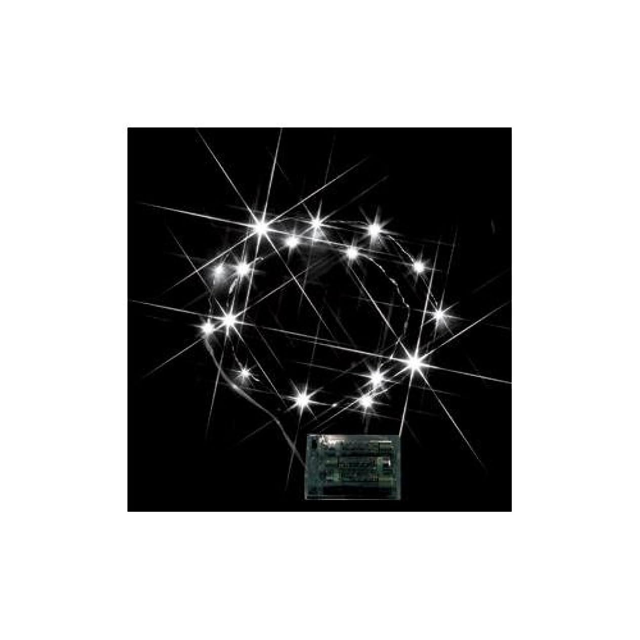 首尾一貫したダイジェスト運動ジェフコム LEDミニストリングライト (電池式) 白 STM-G01W