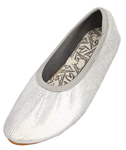 Beck Basic, Zapatillas de Gimnasia Mujer, Plateado (Silber 15), 39 EU