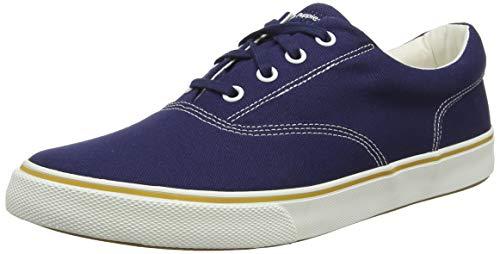 Hush Puppies Chandler Sneaker, Zapatillas Hombre, Azul (Navy Navy), 42.5 EU