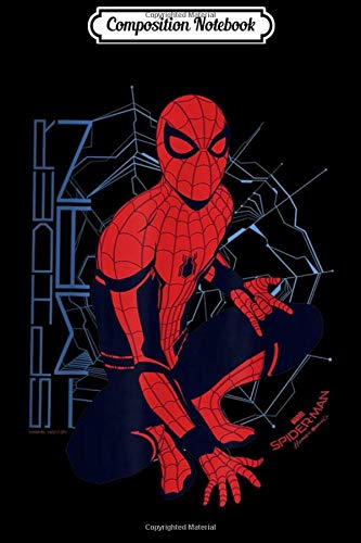 Composition Notebook: Marvel Spider-Man Homecoming Webbed Outlook Graphic  Journal/Notebook Blank Lined Ruled 6x9 100 Pages