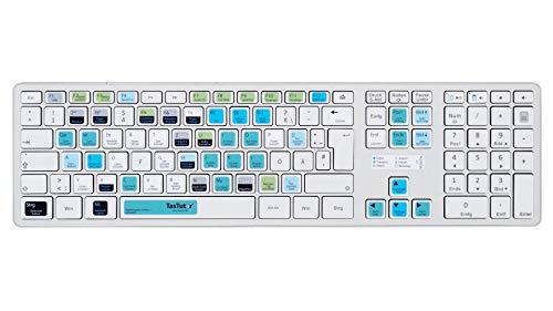 TasTutor Adobe Audition CC Tastatur Aufkleber auf deutsch für Windows / MAC