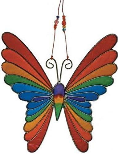 MyFamilyHouse Fair Trade Vlinder Zonnevanger Zonnevanger Raamdecoratie Regenboog Kleuren