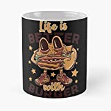 Delivery Food Open Potato Me Deep Places Near Fried Best 11 Ounce Ceramic Coffee Mug