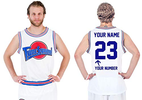 Space Jam Tune Squad Basketball Jersey (Large, Custom Tune Squad)