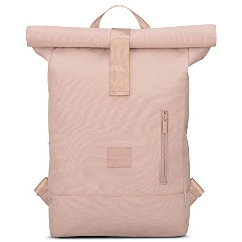 "Rose Roll Top Backpack Women & Men JOHNNY URBAN""Robin"" Casual Daypack Laptop Pocket"