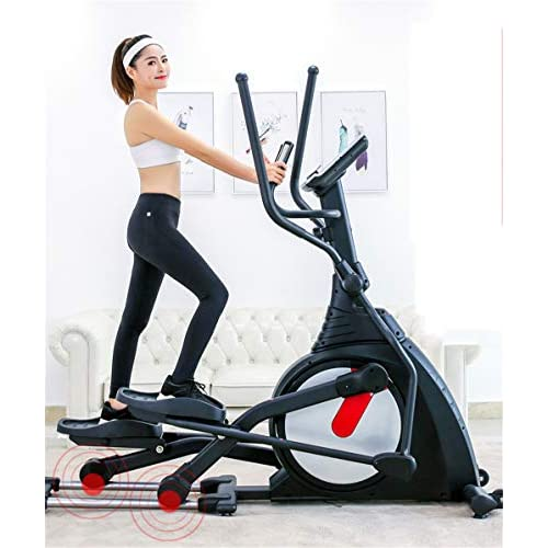 YQ&TL Magnetic Elliptical Cross-Trainer Elliptical machine commercial magnetically controlled silent...