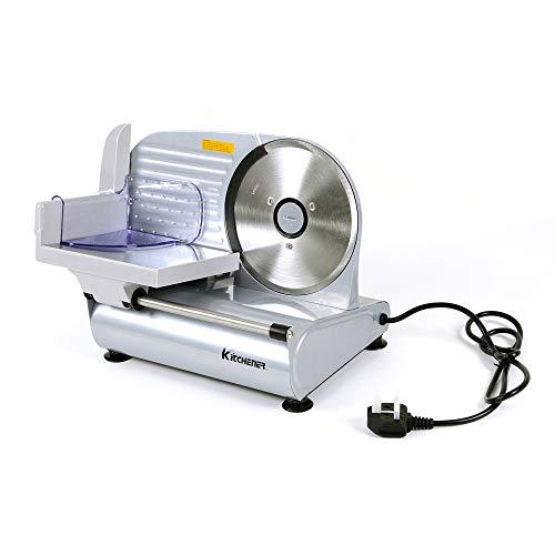 Kitchener 7,5-zoll-230v / 50 hz / 200 w elektrische heavy duty fleischschneidemaschine, nahrungsmittelschneidmaschine