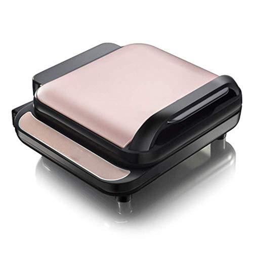 Mzxun Máquina de pastel eléctrico Pan para hornear eléctrico Calefacción de dos caras Calefacción doméstica Panqueques automáticos de pastel eléctrico Máquina de pastel de pastel Máquina de torta rosa