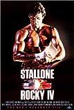 Poster 61 x 91 cm: Rocky IV von Entertainment Collection -