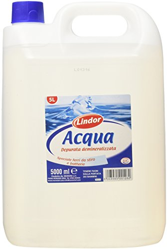 Lindor Acqua Demineralizzata 5000Ml
