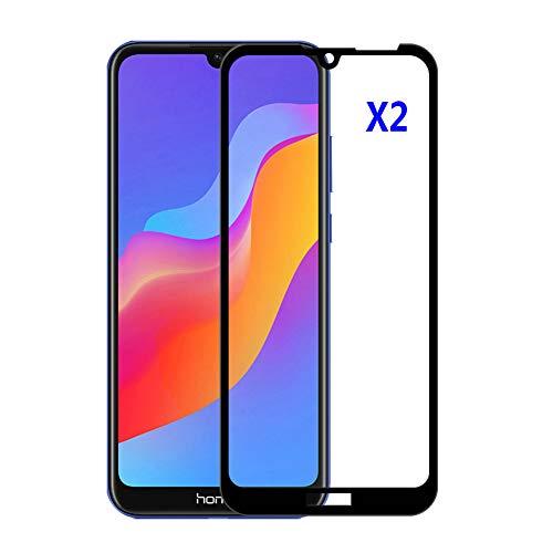 Kepuch 2パック 強化ガラス スクリーンプロテクター 対応 Huawei Y6 Pro 2019/Honor 8A