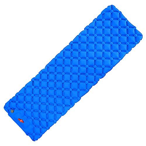 Muium(TM) Colchoneta inflable para dormir, colchón de aire para camping, colchoneta hinchable ultraligera, resistente a la humedad, impermeable y antideslizante