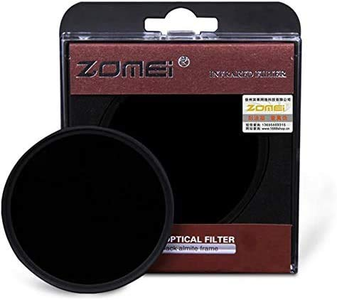 Flycoo Zomei, Filtri infrarossi IR 720nm, in vetro ottico, per Canon Nikon Sony Panasonic Fujifilm Kodak Fotocamera DSLR