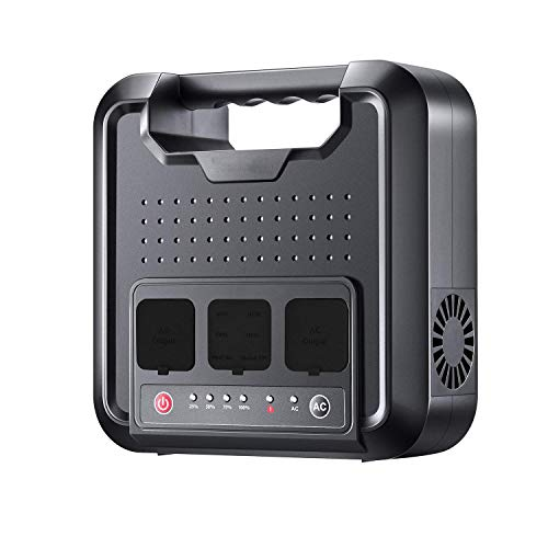 LNLJ Generatore Portatile 300Watt 220Wh Pura Onda sinusoidale Alimentazione Inverter Stazione Caricabatterie Esterno con Campeggio CPAP Emergenza Power Backup