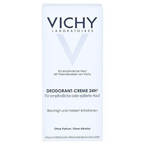 VICHY DEO Creme für empfindliche Haut Doppelpack 2X40 ml