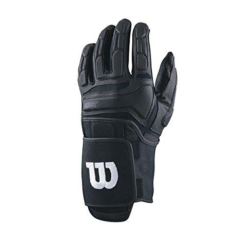 Wilson GST Trench American Football Lineman Handschuhe - Schwarz Gr. M