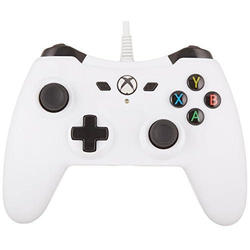 AmazonBasics - Controller con filo, per Xbox One, Bianco