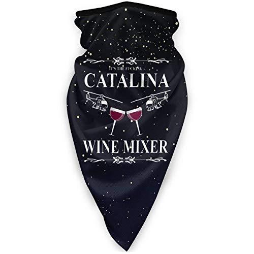 SGDSGSG Catalina Wine Mixer Face Mouth Winddicht Sports Ski Shield Schal Bandana Men Woman Sonne UV Wind Staubschutz outdoor Running