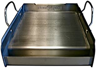 Little Griddle GQ-120 Q GQ120 100% Stainless Steel Medium-Sized Professional Griddle, 12.5
