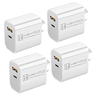 HEYMIX 20W PD Charger 4-Pack USB-C Power Adapter QC3.0 Charger AU-Plug (SAA Certified) (B092TNNDMP) | Amazon price tracker / tracking, Amazon price history charts, Amazon price watches, Amazon price drop alerts