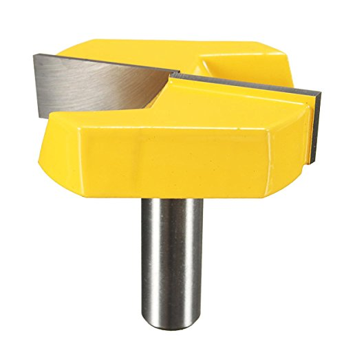 Drill Bits Router Bit - 1/2 Inch Shank 2-1/4 Inch Diameter Bottom Cleaning Router Bit Woodworking Milling Cutter - 1 x Router Bit