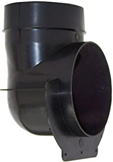 Speedi-Products EX-ROA 04 4-Inch Plastic Round to Oval Adapter