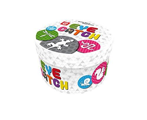 Game Factory 646189 Eye Catch, Reaktionsspiel, Kartenspiel für 2 bis 4 Spieler