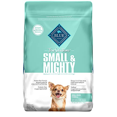 Blue Buffalo True Solutions Small & Mighty Natural Small Breed Adult Dry Dog Food, Chicken 11lb