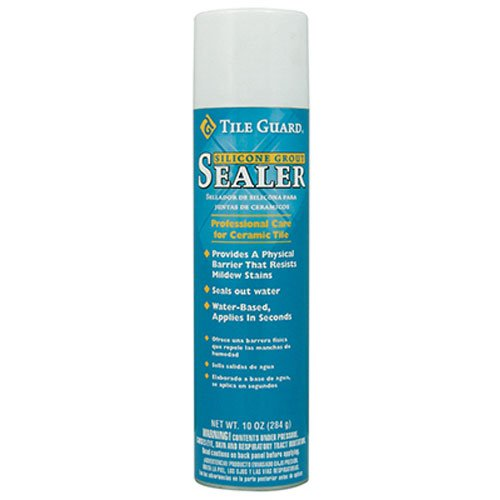 Homax Group 9520 Tile Guard Aerosol Silicone Grout Sealer, 10-Ounce