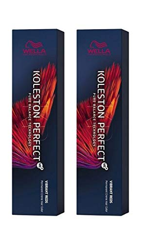 Wella 2 er Pack Koleston Perfect Me+ KP VIBRANT REDS 8/34 hellblond gold-rot