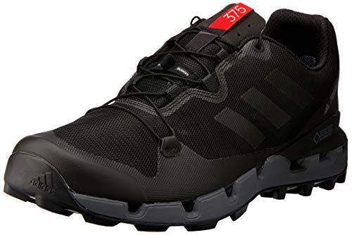 adidas Terrex Fast GTX-Surround, Chaussures de Randonnée Basses Homme, Noir (Negbás/Gricin/Roalre 000), 42 EU