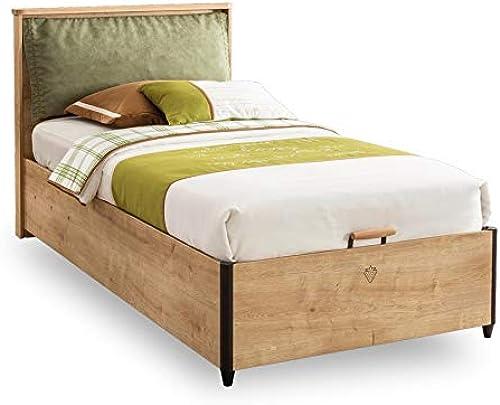 Cilek Mocha Jugendbett III, 100x200 cm mit Bettkasten Matratze ohne Matratze