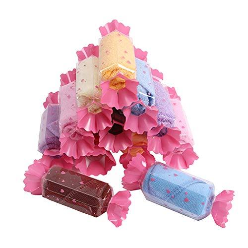Amycute 12 pcs juguete de Toalla en forma de Dulces regalos Originales...
