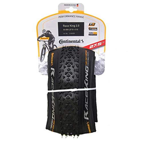 NaisiCore Bicicletas Plegables de neumáticos de Repuesto Continental Camino de Bicicletas de montaña BTT neumáticos de protección (27x2cm) Accesorios de Bicicletas