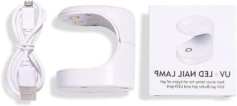 DONGMIAN Mini UV LED Nail Lamp Draagbare Nail Fototherapie Licht Nagels Drogers Kits voor Vingernagel Toenail met USB Opla...