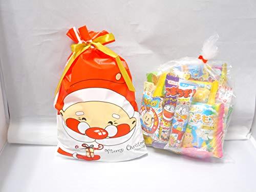 クリスマス サンタ柄 駄菓子 詰め合わせXLサイズ/プレゼント/配布/イベント/子ども会