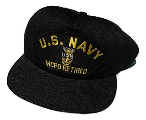 US Navy MCPO Master Chef Petty Officer E-9 Retired Ball Cap