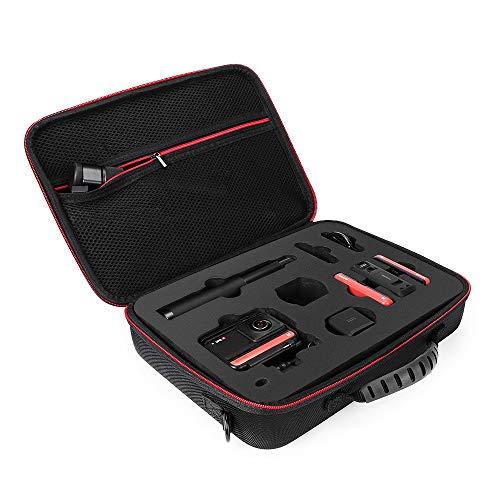 CUEYU Tragbare Tragetasche für Insta 360 ONE R Kamera, Wasserdicht Handtasche Outdoor Carry on Hart Case Tasche für Insta 360 ONE R Camera - 23,5 x 17,5 x 5,5 cm