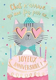 4 Joyeux anniversaire! Âge 4 Carte d/'anniversaire 4th Carte de vœux pour Garçons avec skateb