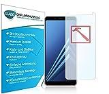 Slabo 3 x Premium Pellicola Protettiva in Vetro Temperato per Samsung Galaxy A8 (2018) Pellicola Protettiva Schermo Tempered Glass Crystal Clear - Graffi Fino a 9H