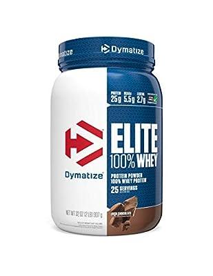 Dymatize Elite 100% Whey Protein Powder by