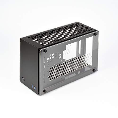 GEEEK MINI-ITX Chassis schwarz Schwarz A50 PLUS V1.3