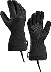Arc'teryx Fission SV Glove (Black/Infrared, Large)