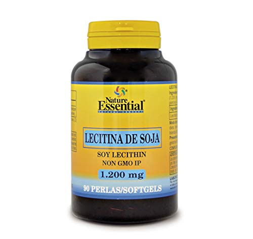 Lecitina de soja 1200 mg. 90 perlas